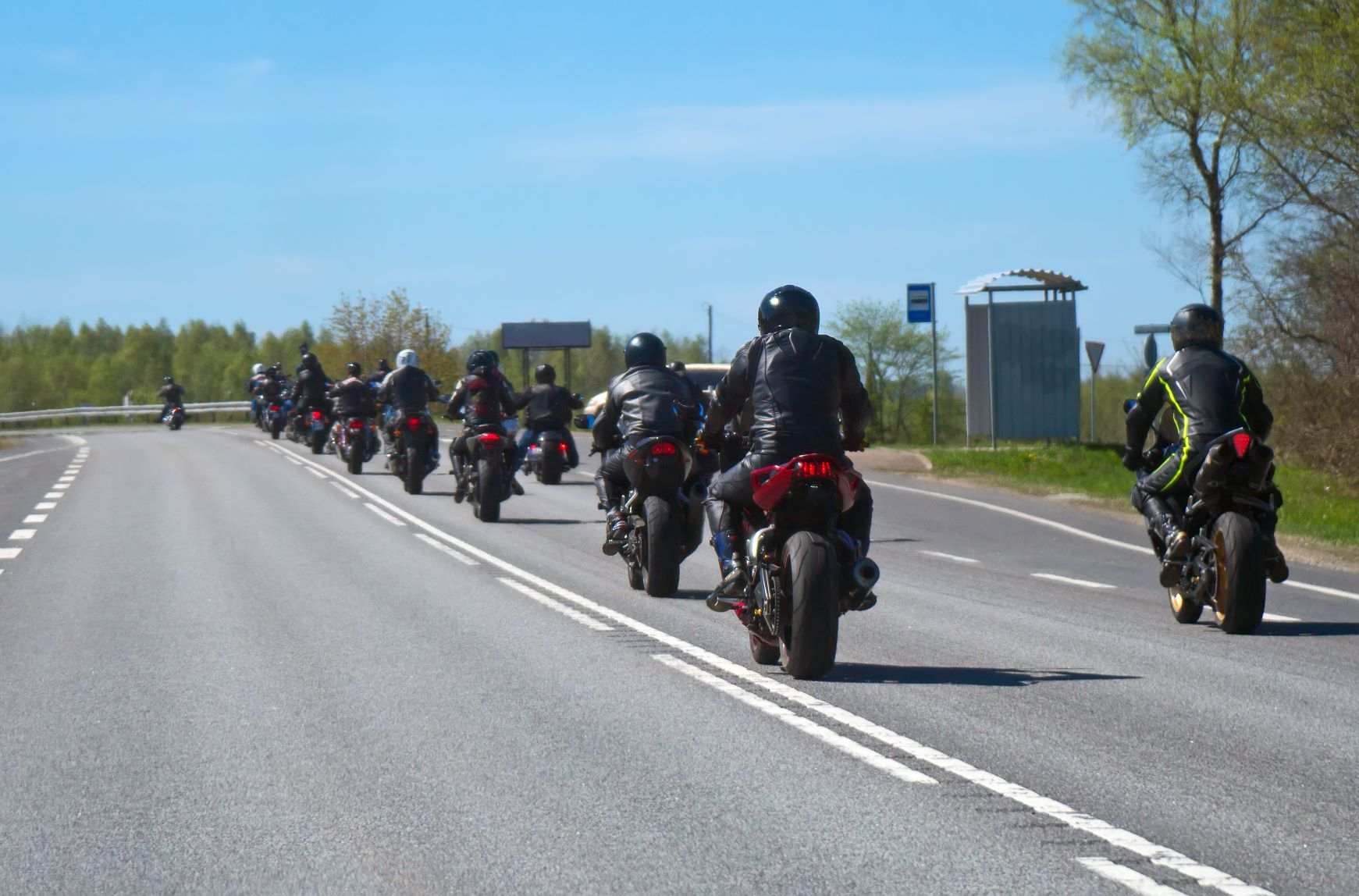 Motorcycle Group Red